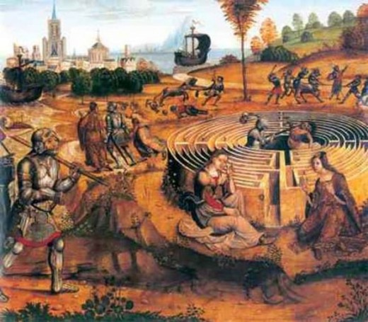 Theseus' Voyage To Crete, early 16th century