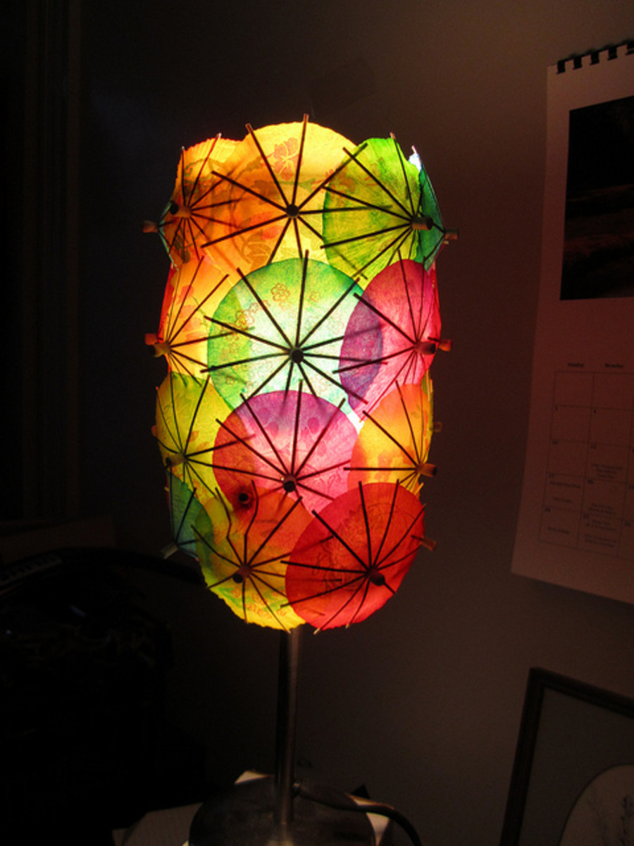 DIY Lamps Amp Lights Roundup Of Home Dcor Craft Projects
