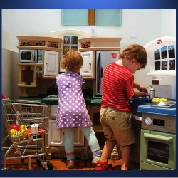 Child's Play Kitchen For Serious Fun