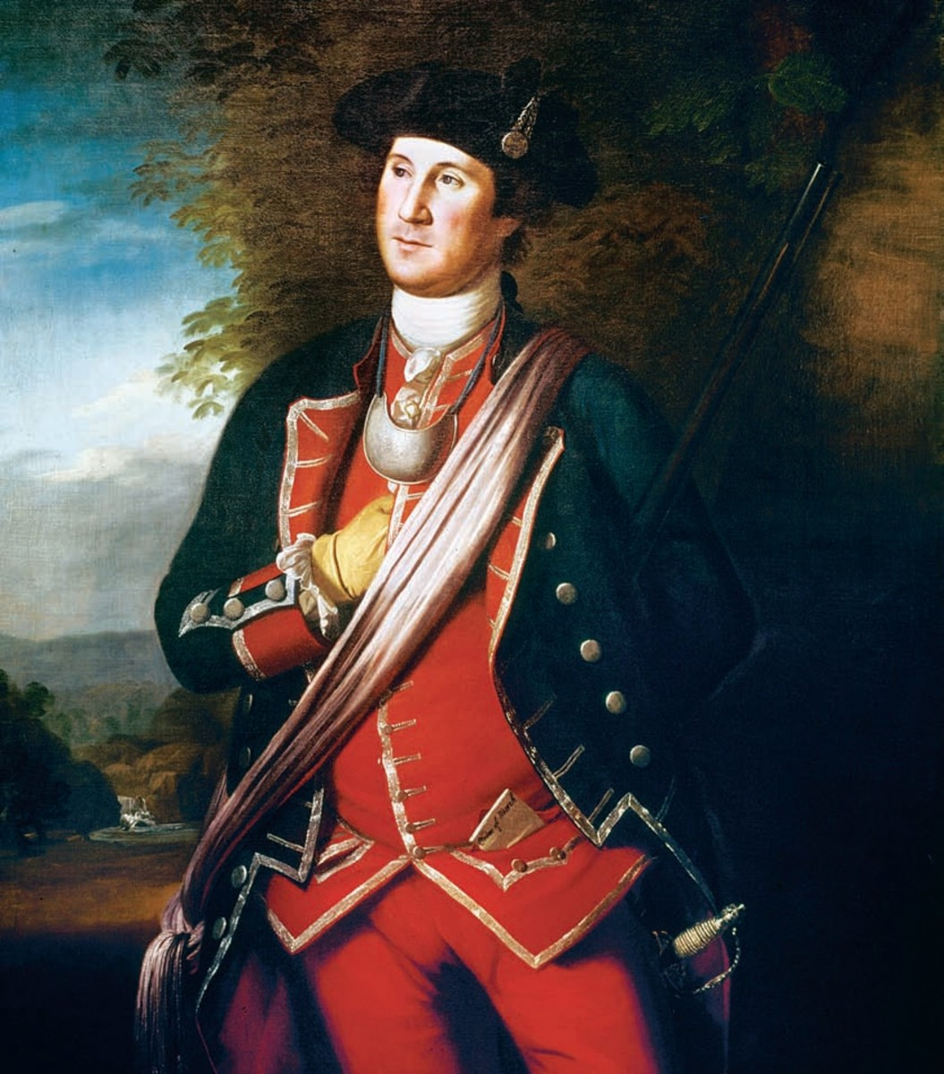 President George Washington S Background For Kids