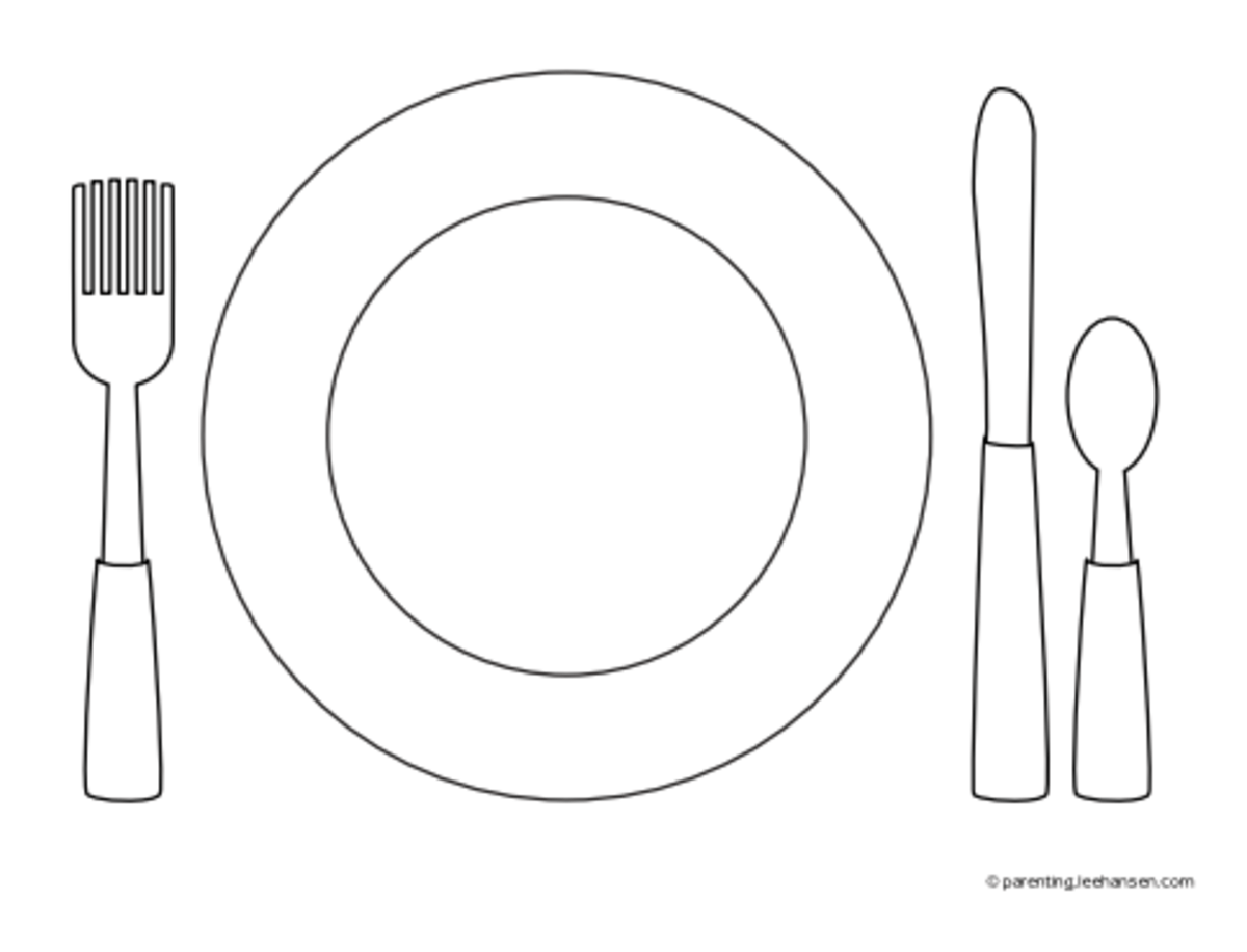Placemat Templates  Best Images Of Printable Placemats For