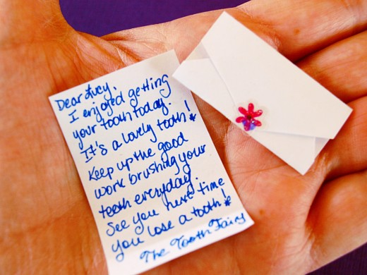 Tooth Fairy Letters For Your Child WeHaveKids
