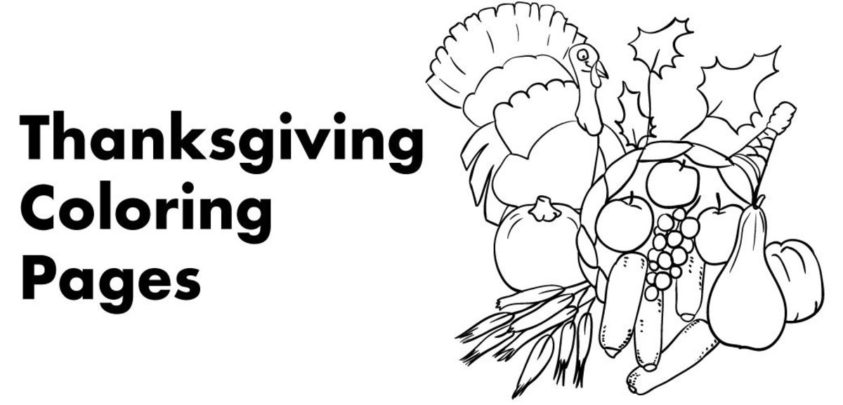 7 Free Thanksgiving Coloring Pages HubPages