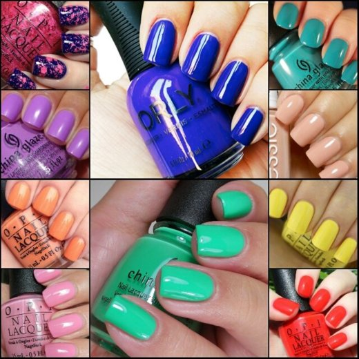 Latest Spring Nail Polish Colors 2016 Top