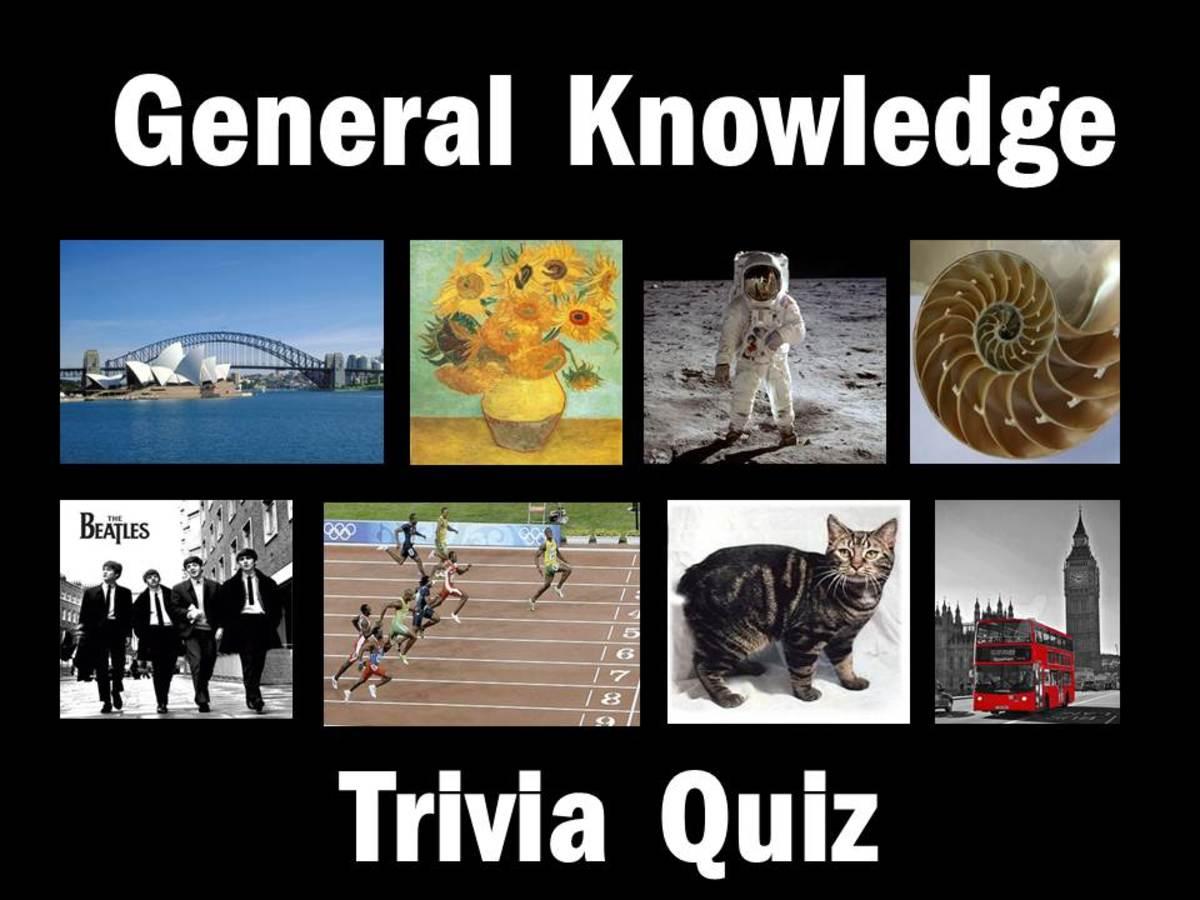General Knowledge Trivia Quiz 1