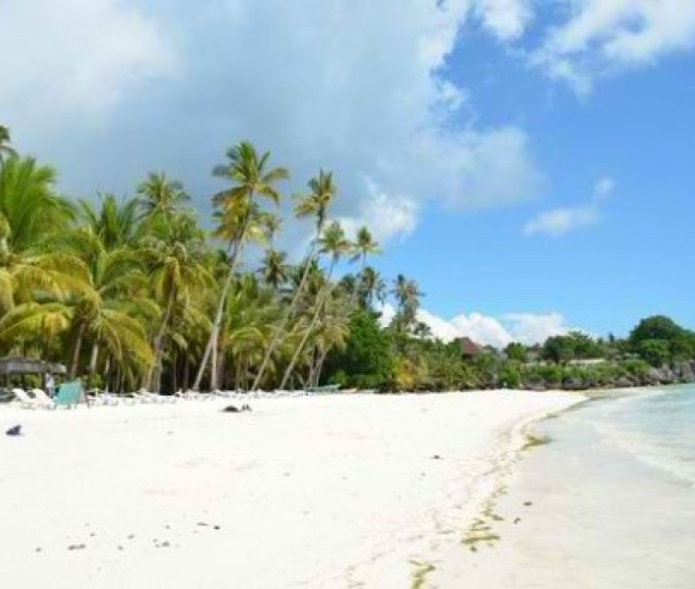 Dumaluan Beach Is Not As Famous As Alona Beach In Panglao But It Is More Beautiful