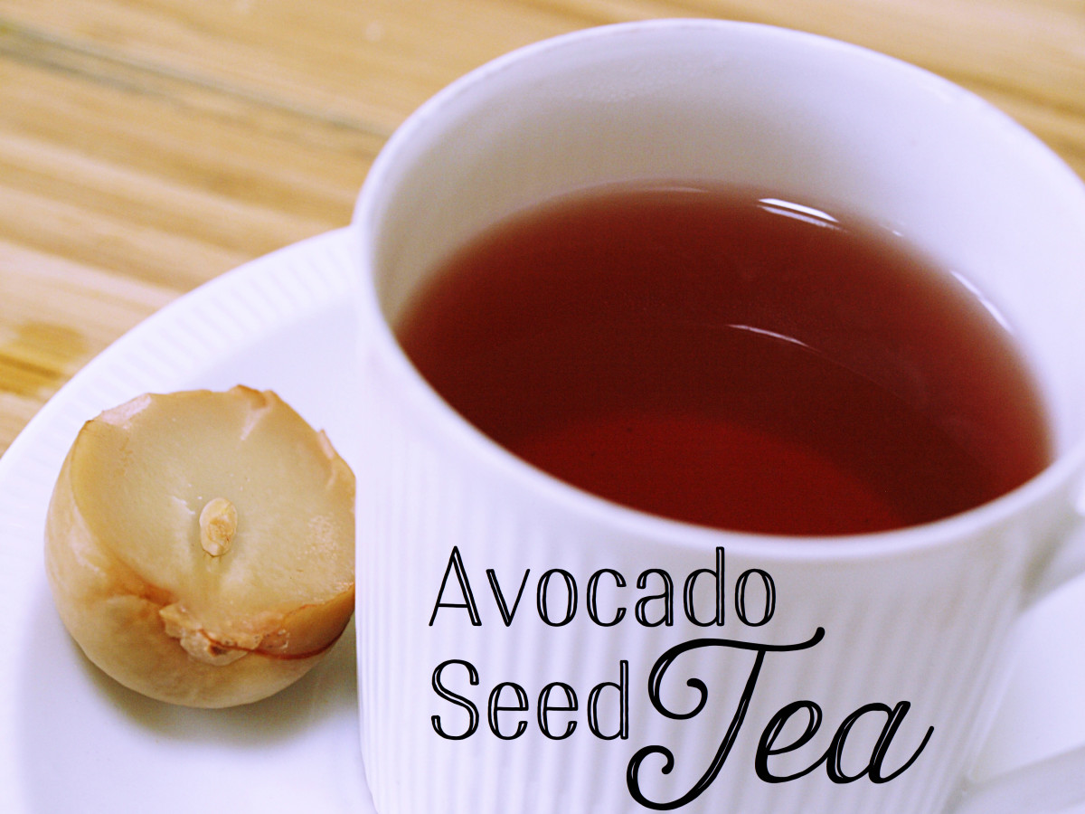 Image result for avocado bone tea