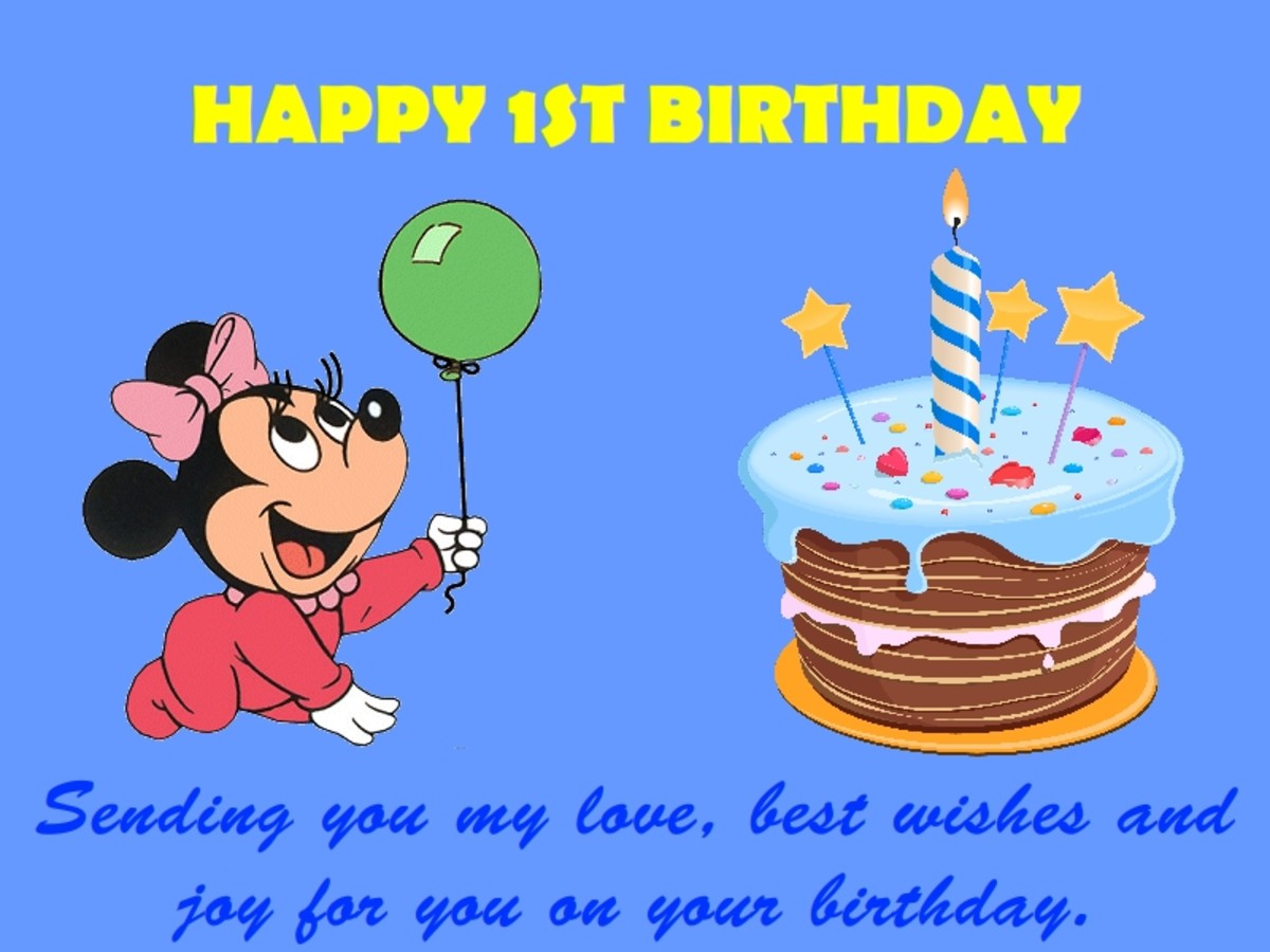 1st Birthday Wishes Messages And Quotes Collection