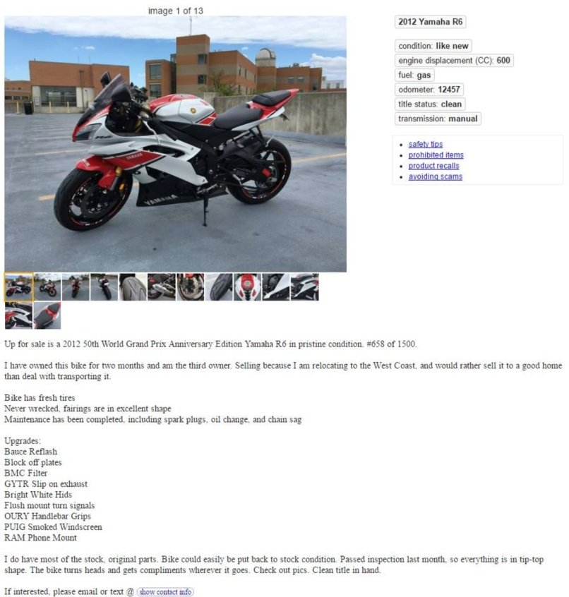 Craigslist San Antonio Texas Motorcycle Parts | Jidimotor co