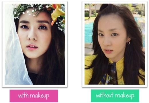 Prettiest Kpop Idols Without Makeup Saubhaya Makeup