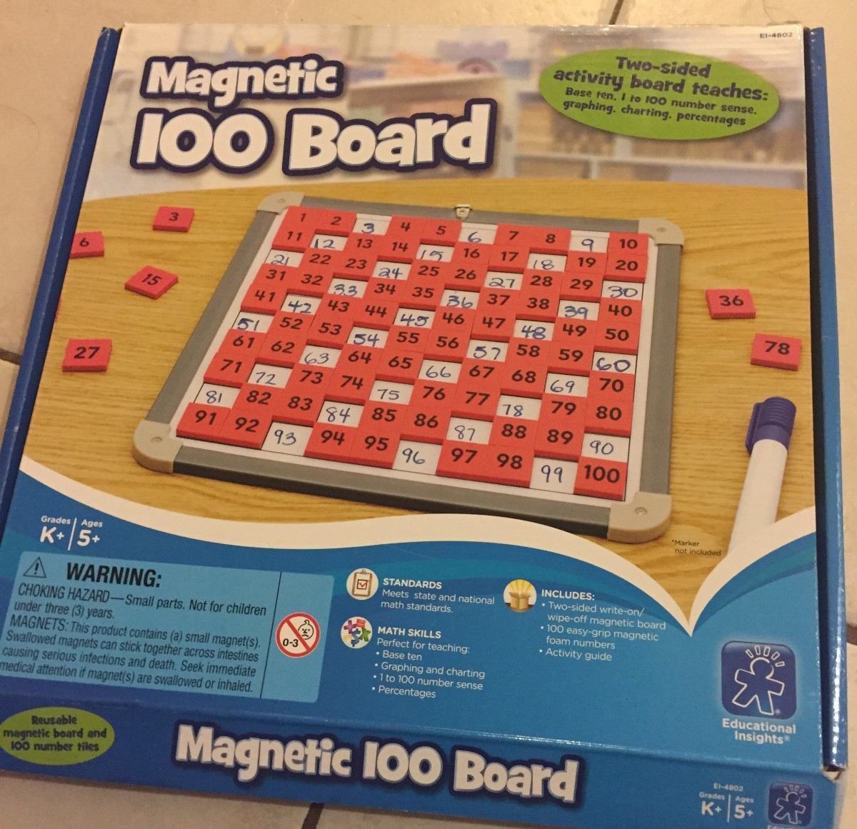 Teaching Place Value And Number Sense With A Magnetic