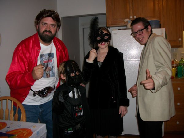 Our family has a Halloween party every year!