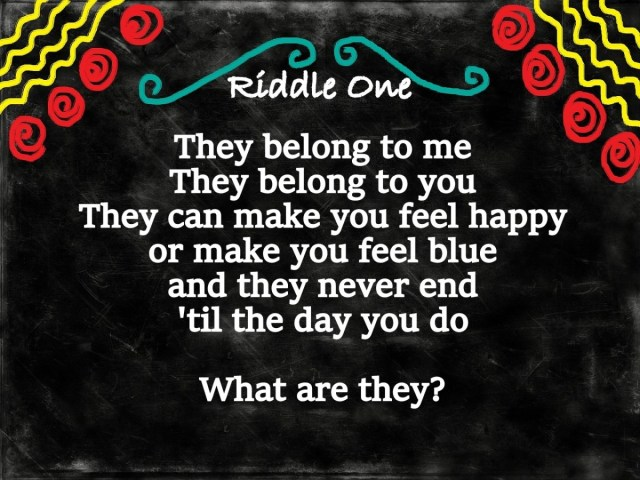 Original Riddles with Answers - HubPages