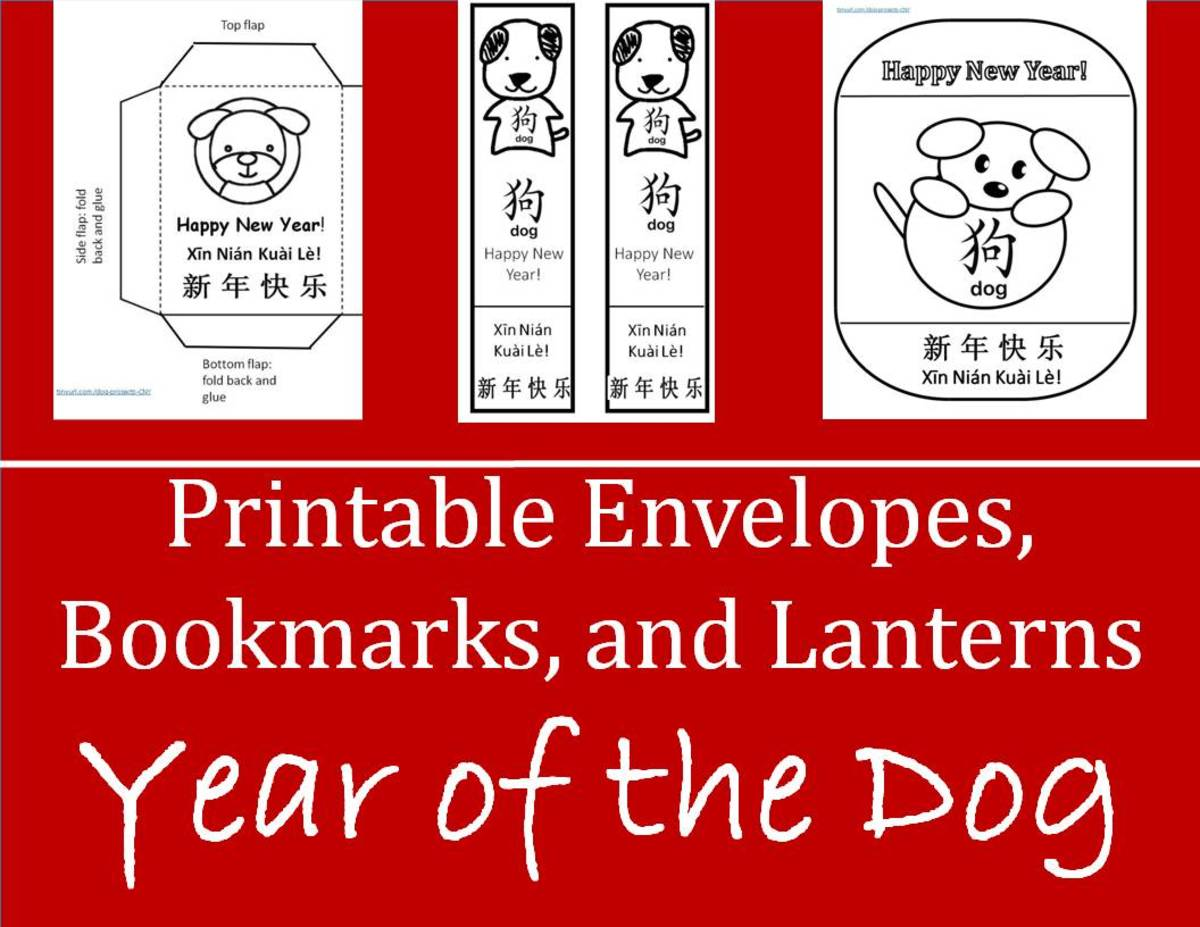 Kid Crafts For Chinese New Year Year Of The Dog