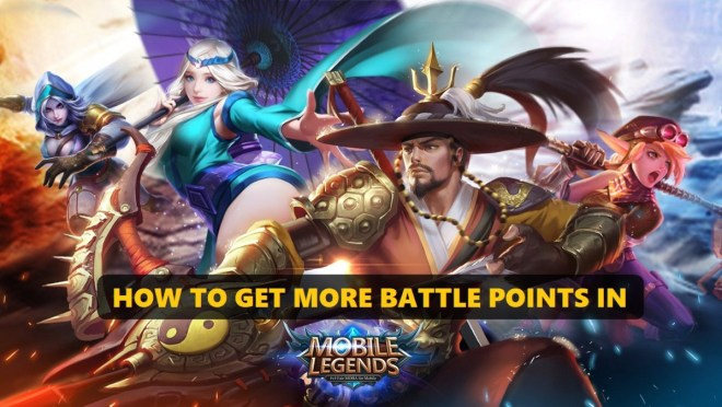 how to get more battle points in mobile legends   levelskip