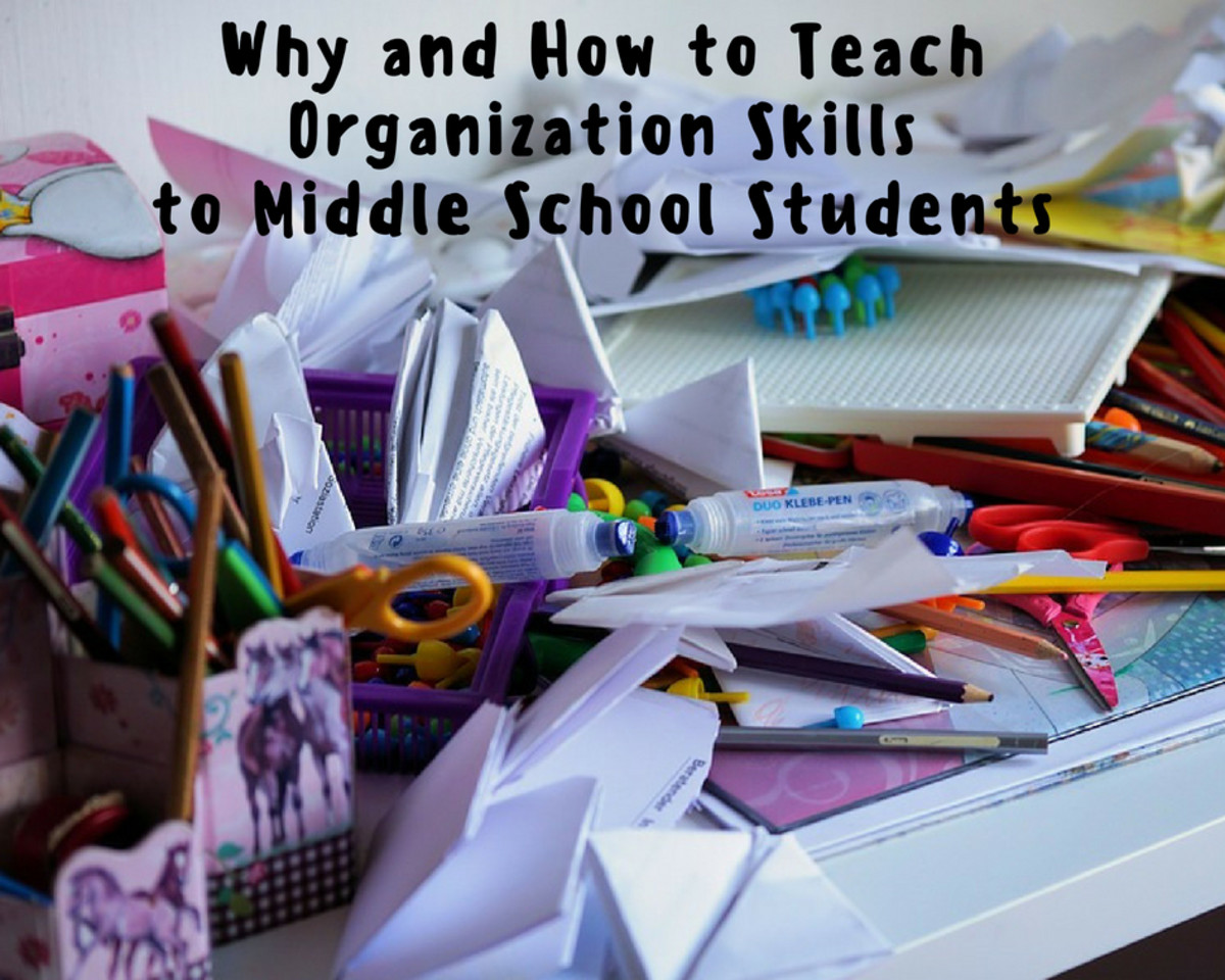 Why And How To Teach Organization Skills To Middle School