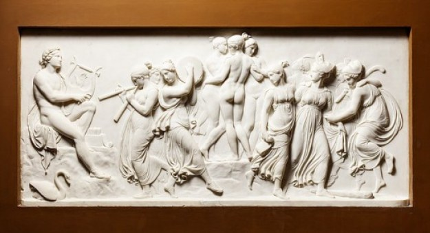The Dance of the Muses on Helicon.