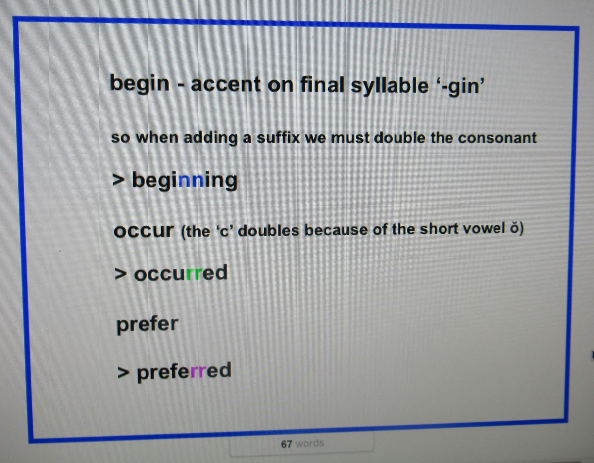 When To Double Consonants In Spelling Rules And Examples