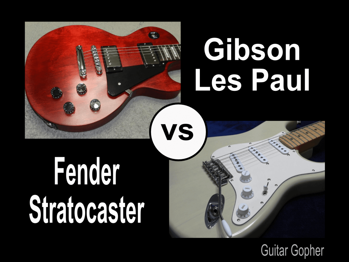 Gibson Les Paul Vs Fender Stratocaster Guitar Review Spinditty