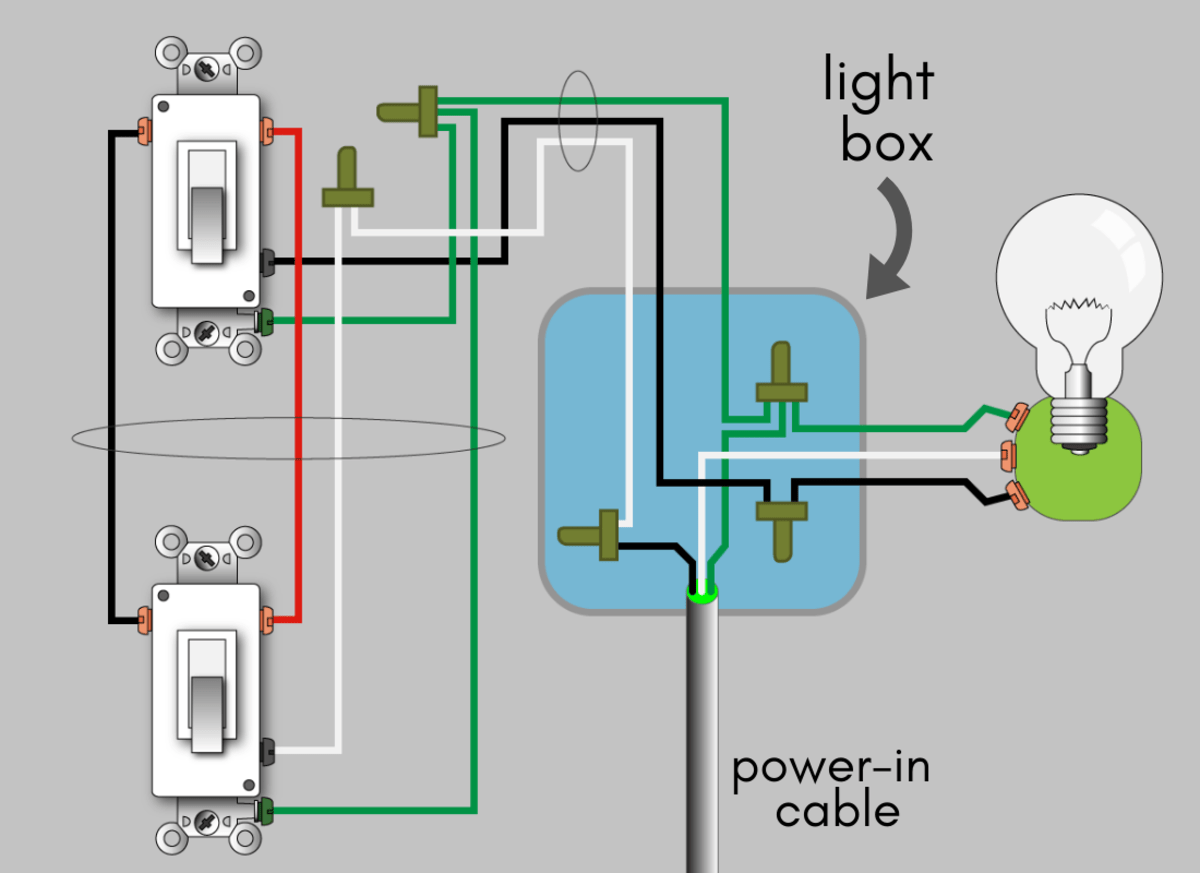 How To Wire A 3-Way Switch: Wiring Diagram