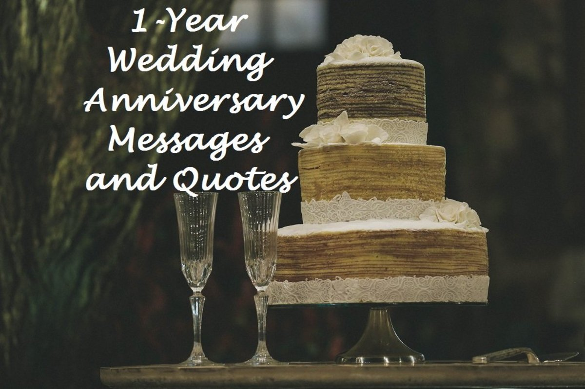 1-Year Wedding Anniversary Messages and Quotes | Holidappy