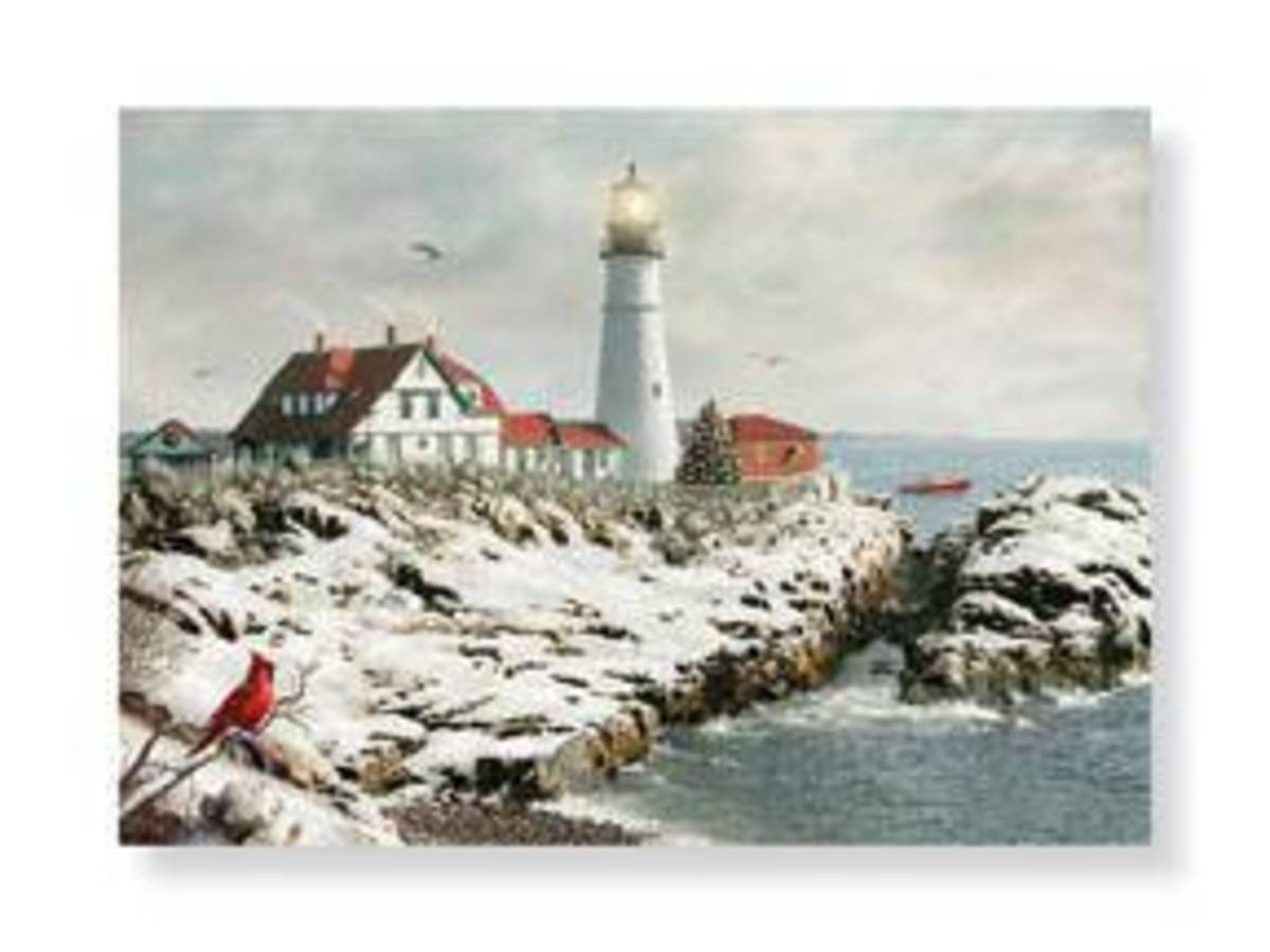 Lighthouse Christmas Cards HubPages