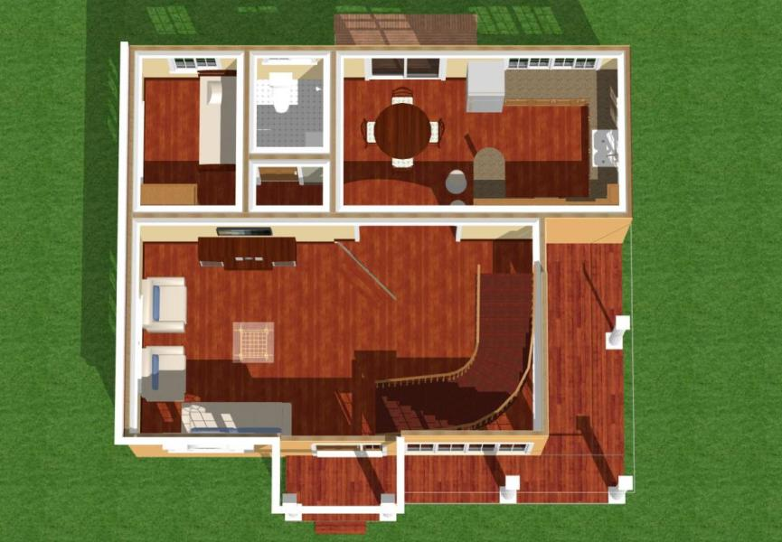 Simple Modern Homes and Plans by Jahnbar   Owlcation Ground floor plan