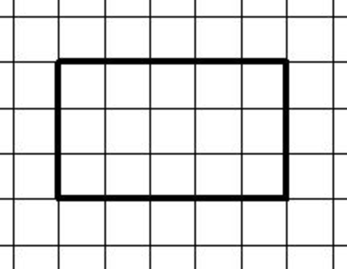 How To Find The Area Of Shape By Counting The Squares