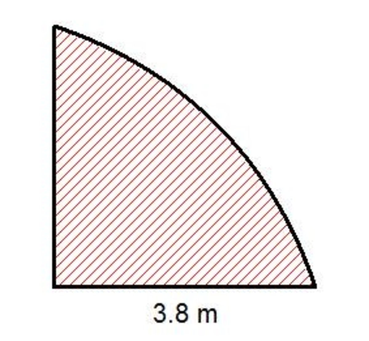How To Find The Area Of A Quadrant A Quarter Of A Circle