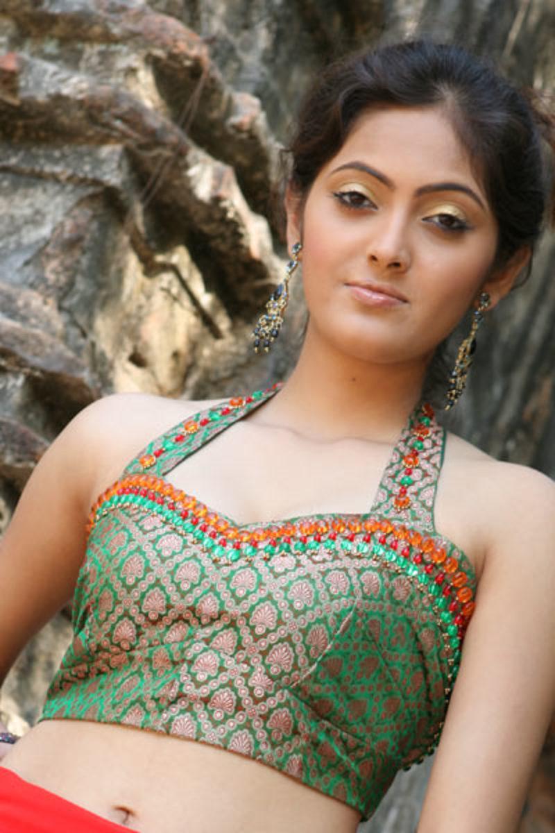 Sleeveless Indian Golden Pattern Blouse