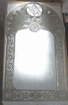 People often report paranormal phenomena around mirrors in their homes.