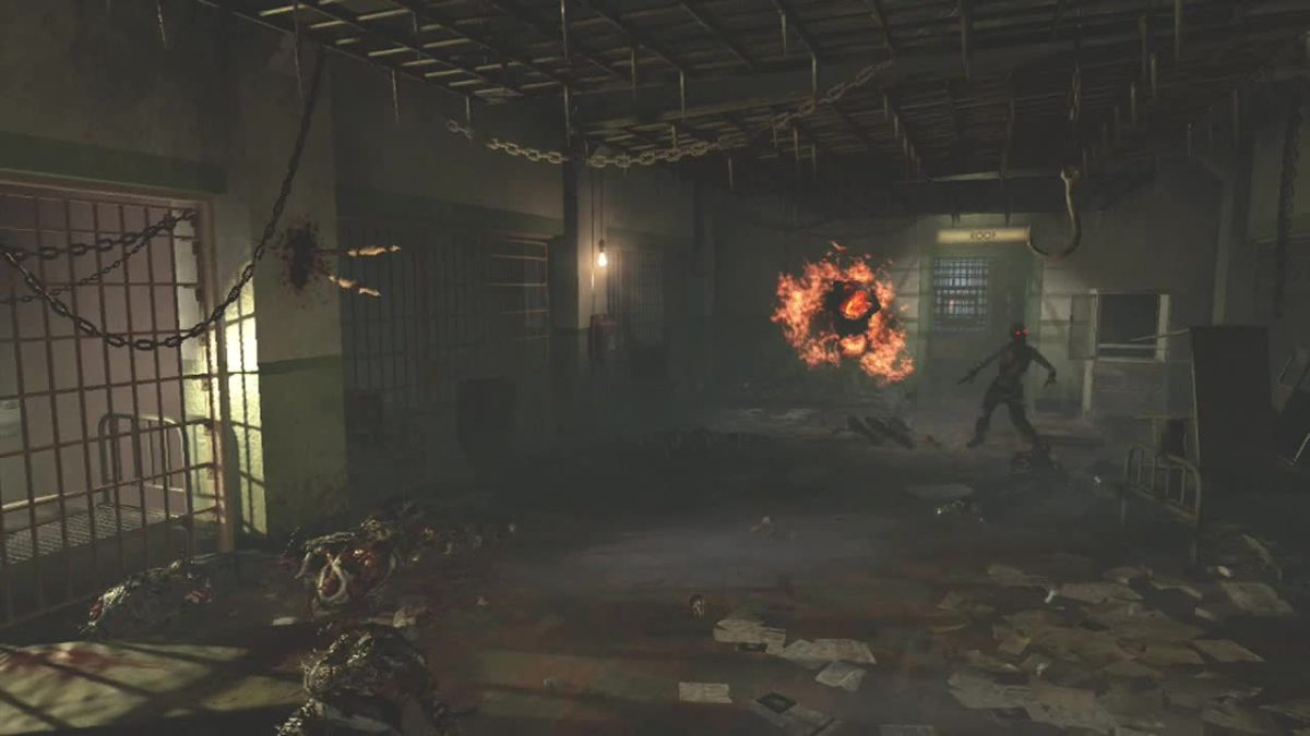 The Infirmary In Alcatraz Mob Of The Dead Call Of Duty