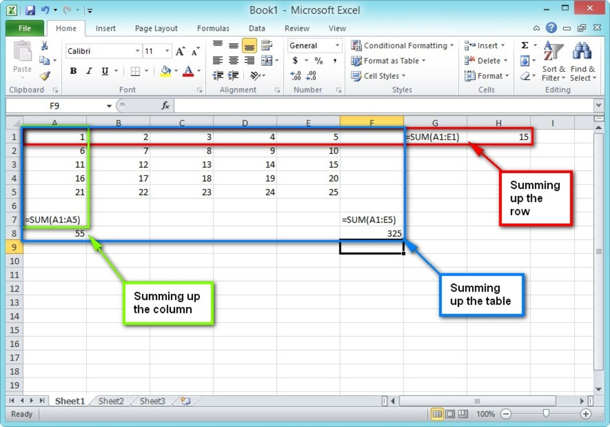Basic Terms And Terminology For Microsoft Excel