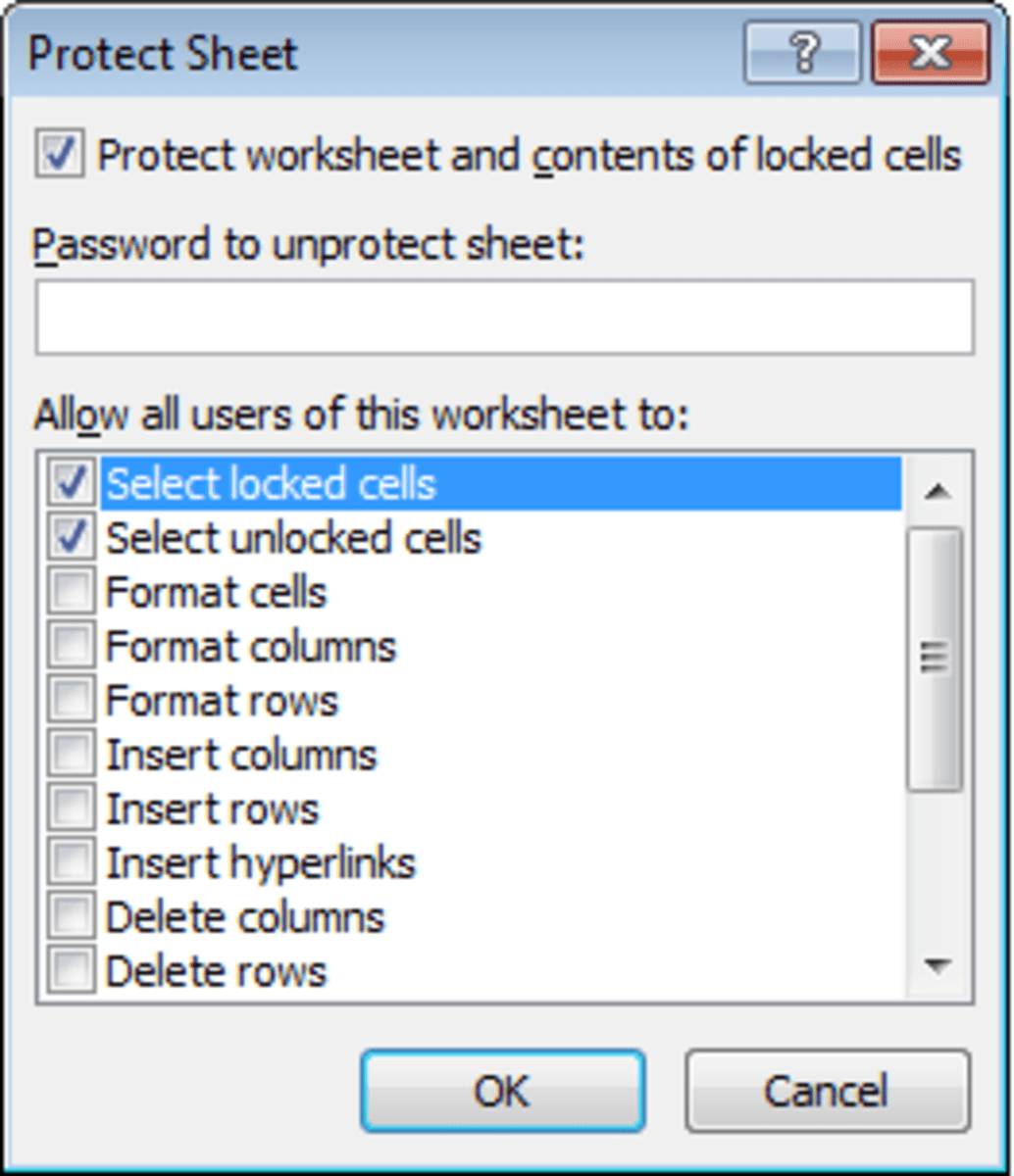 How To Password Protect Excel Spreadsheets Worksheets Or