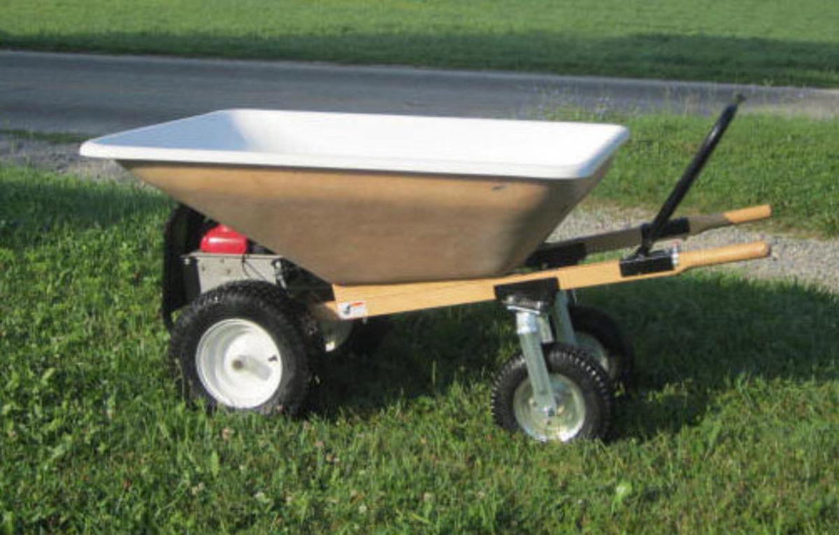 How Build Garden Dump Cart