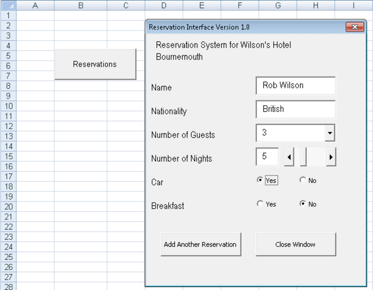 Nested If Statements Excel Vba