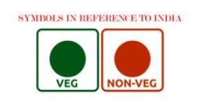 Resultado de imagem para vegetarian food label india
