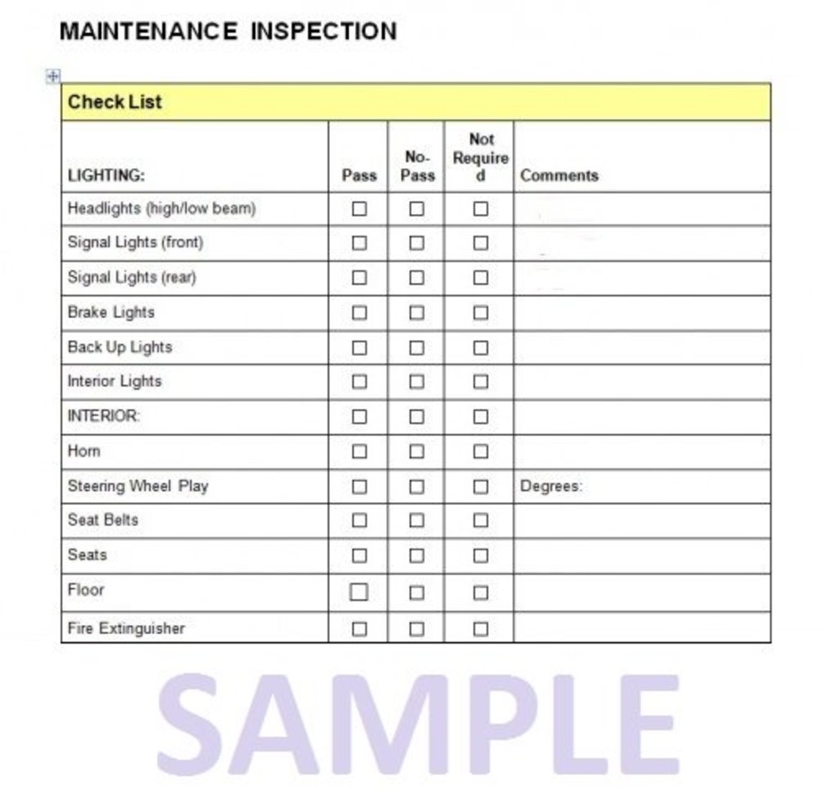 How To Perform A Car Maintenance Inspection