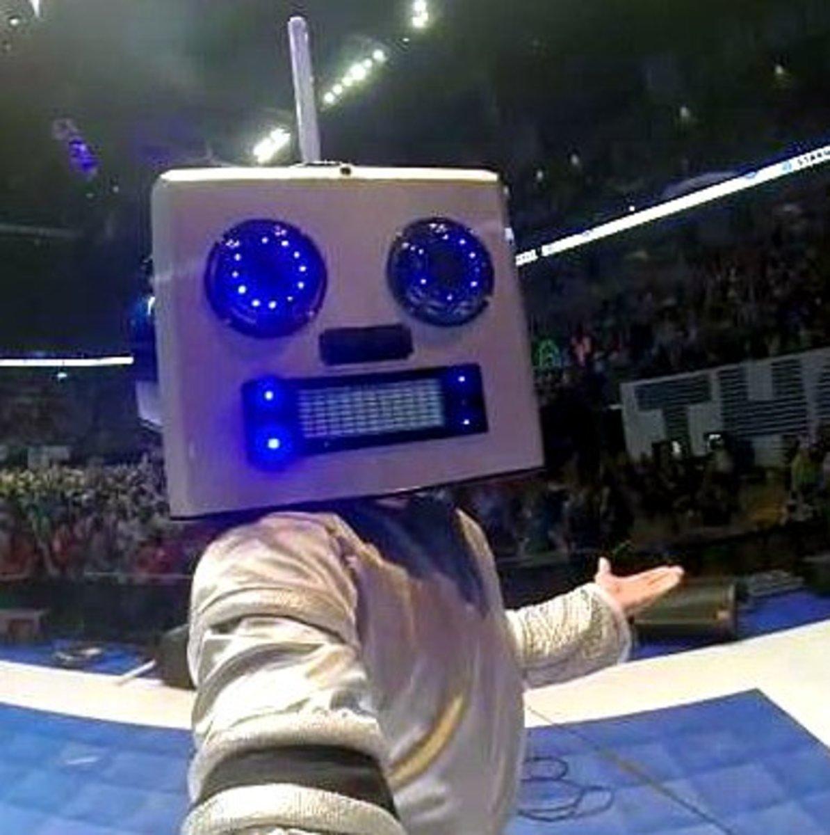 GSR mascot DJ Major Unit