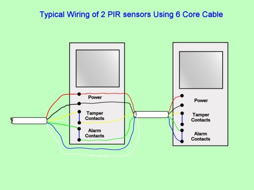 pir detector wiring diagram wiring diagram 2wire motion sensor wire diagram trailer wiring