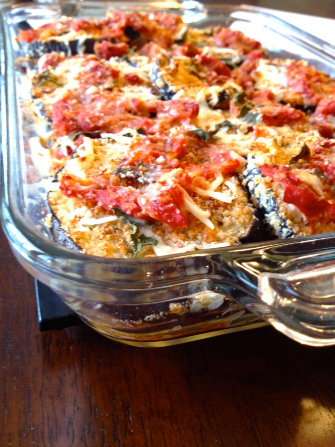 Light Eggplant Parmesan & Basic Tomato Sauce Recipe