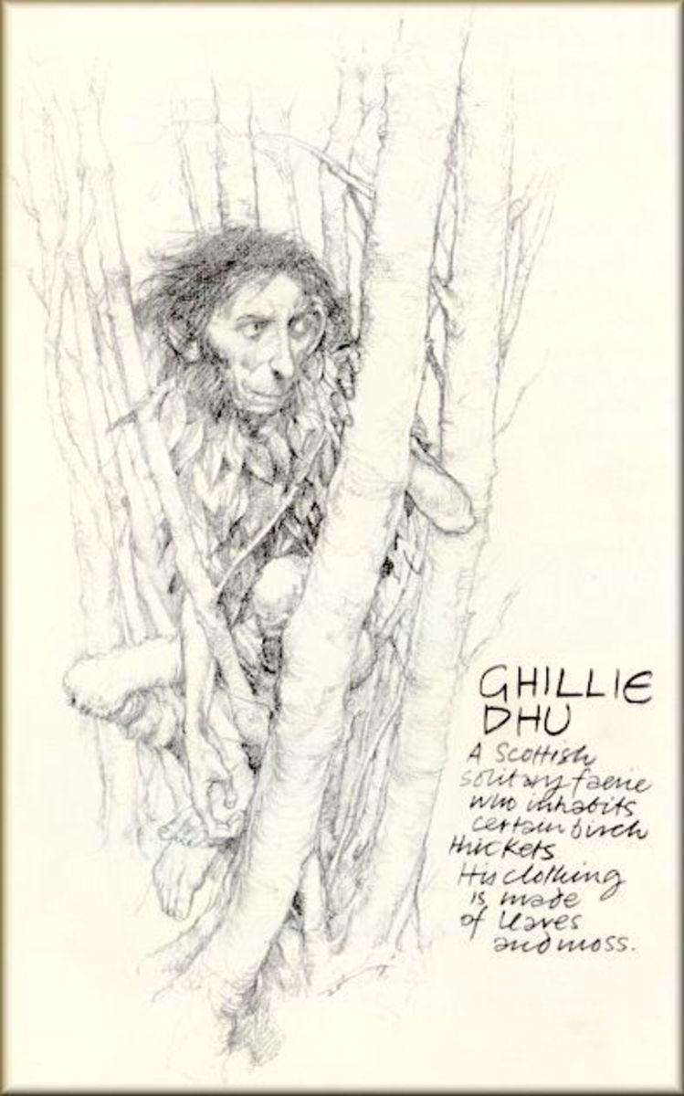 Ghillie Dhu Cryptid Wiki Fandom