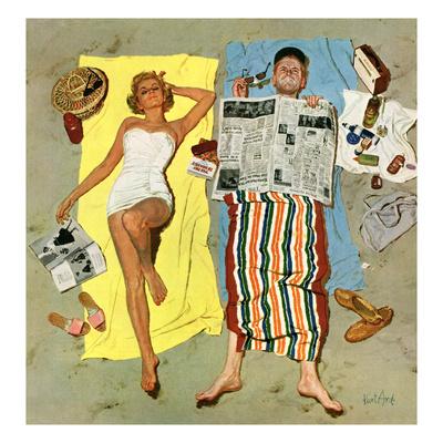 """""""Sunscreen?"""",... by Kurt Ard"""
