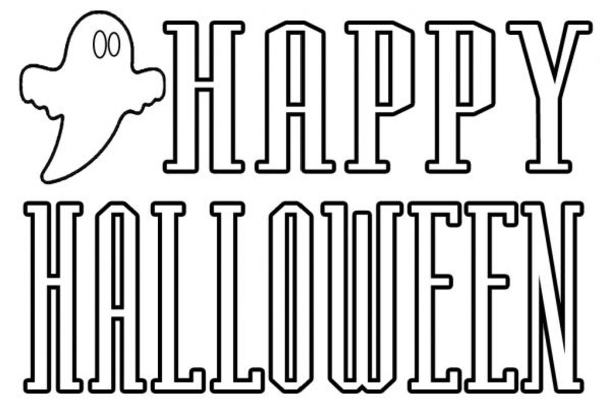 Printable Halloween Coloring Amp Crafts