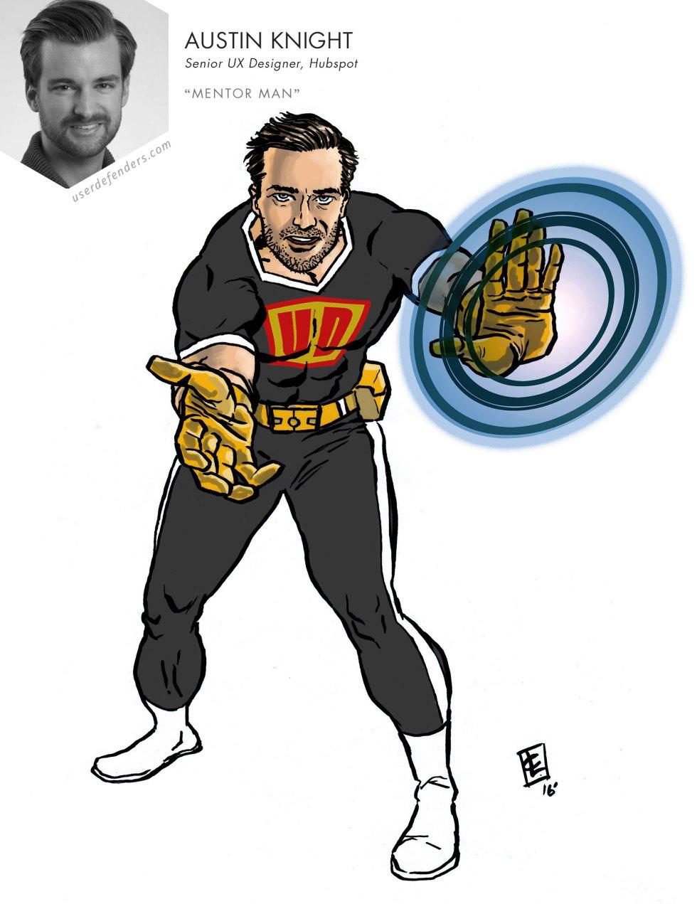 """User Defenders """"Mentor Man"""" Austin Knight"""