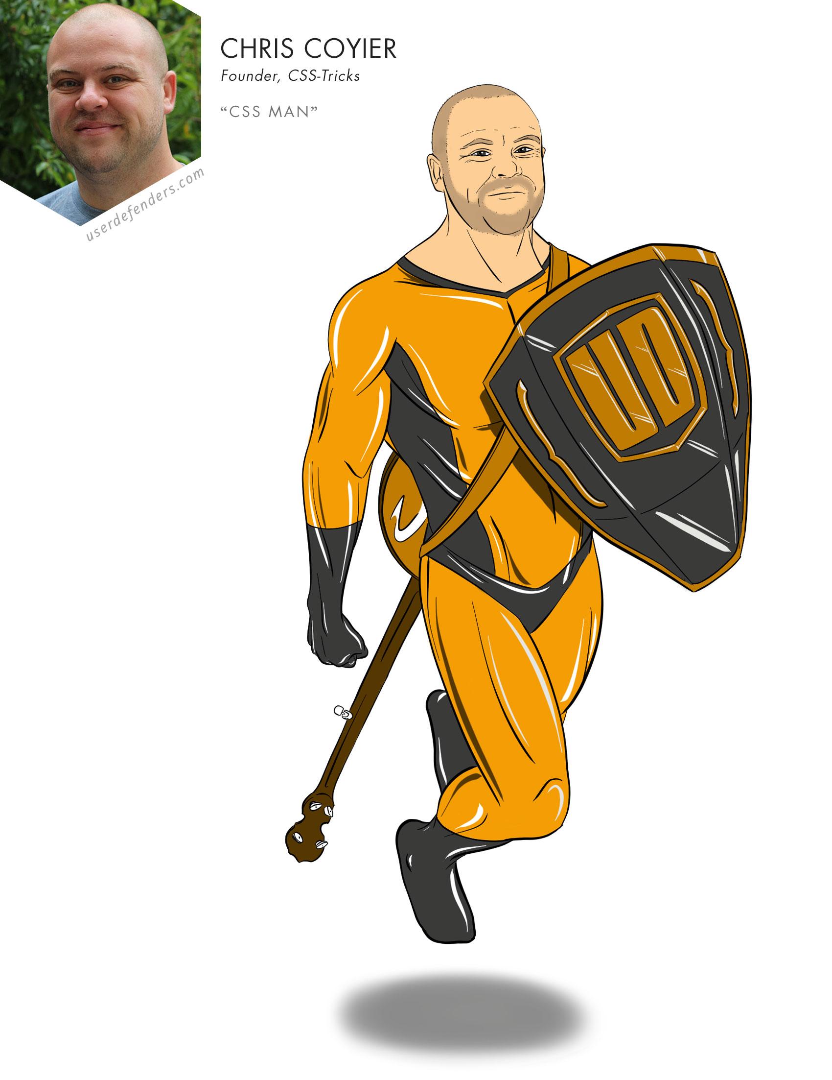 "User Defenders ""CSS Man"" Chris Coyier"