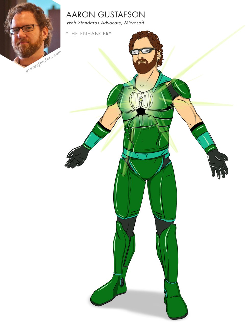 "User Defenders ""The Enhancer"" Aaron Gustafson"