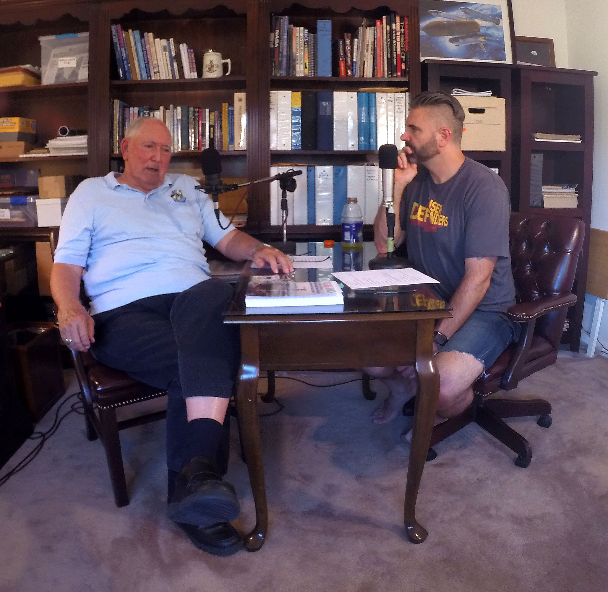 Proudest moment for me as a podcaster was interviewing my Pop in his office in Merritt Island, FL the day after his 80th Bday.