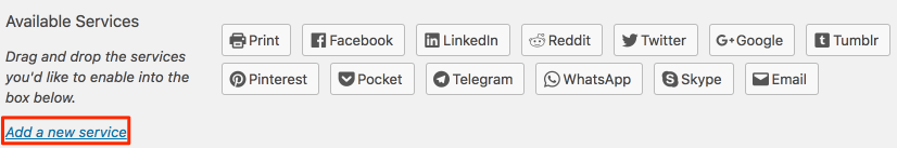 Adding Flipboard as a new sharing service in Jetpack