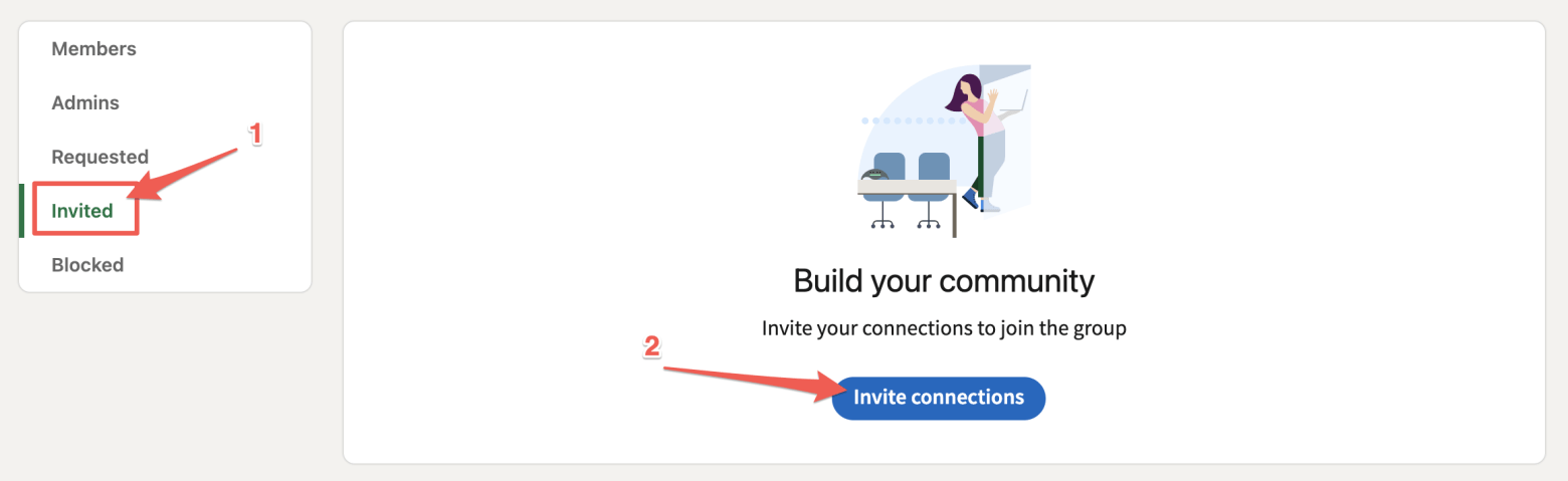 How to invite members into your LinkedIn group